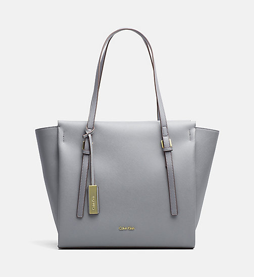 CALVINKLEIN Grote tote bag - STEEL GREY - CALVIN KLEIN CARRIED AWAY - main image