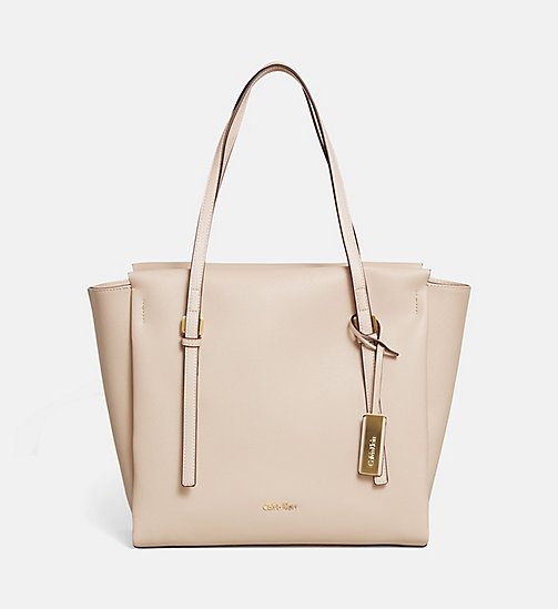 CALVINKLEIN Large Tote Bag - MUSHROOM - CALVIN KLEIN VIP SALE Women DE - main image