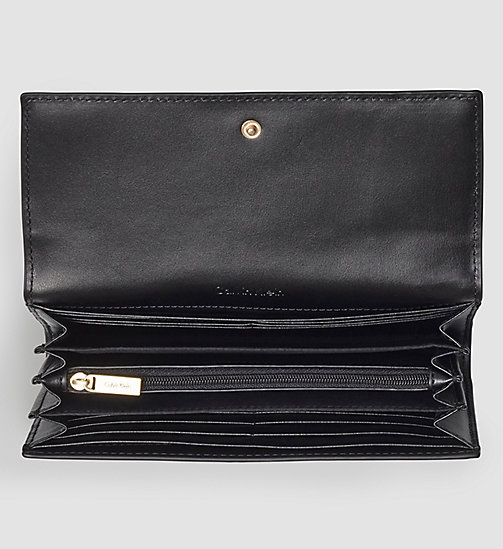 Large Trifold Wallet - BLACK - CALVIN KLEIN SHOES & ACCESSORIES - detail image 1
