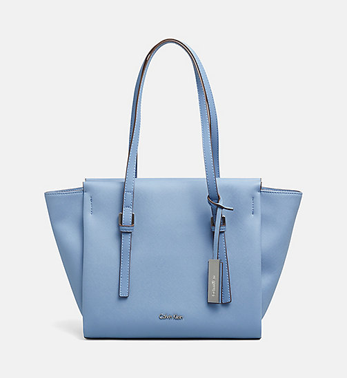 Medium tote bag - CASHMERE BLUE - CALVIN KLEIN  - main image