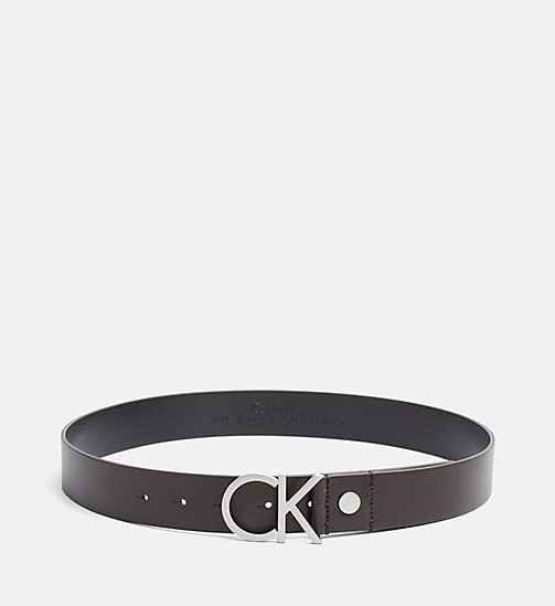 Leather Logo Belt - UNIHIBITED - CALVIN KLEIN  - main image