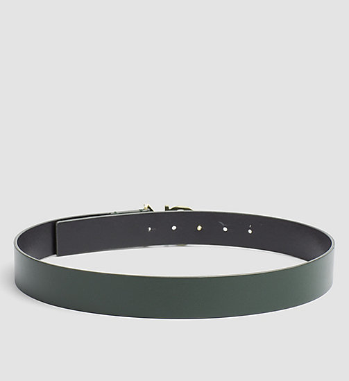 Leather Logo Belt - IVY - CALVIN KLEIN  - detail image 1