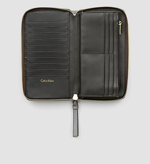 CALVINKLEIN Large Zip-Around Wallet - STEEL GREY - CALVIN KLEIN  - detail image 1