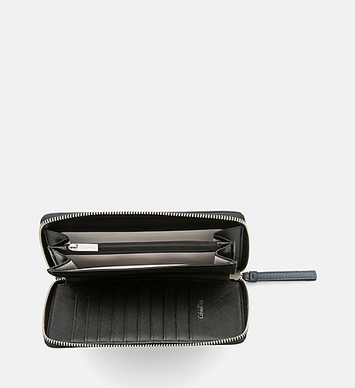 CALVINKLEIN Large Zip-Around Wallet - BLUE NIGHT - CALVIN KLEIN  - detail image 1
