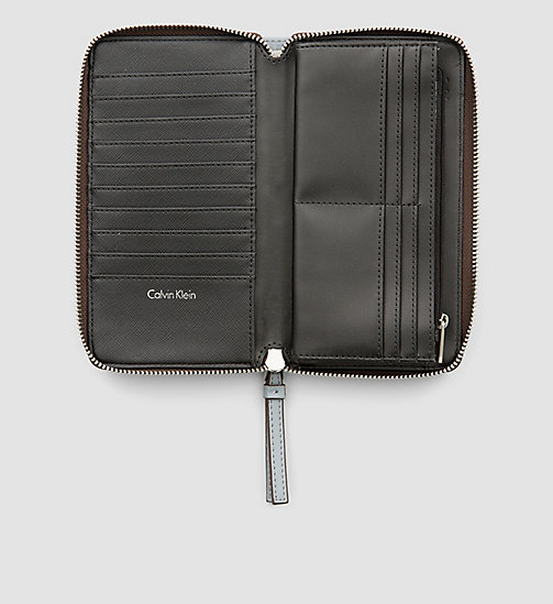 CALVINKLEIN Large Zip-Around Wallet - MINERAL - CALVIN KLEIN  - detail image 1