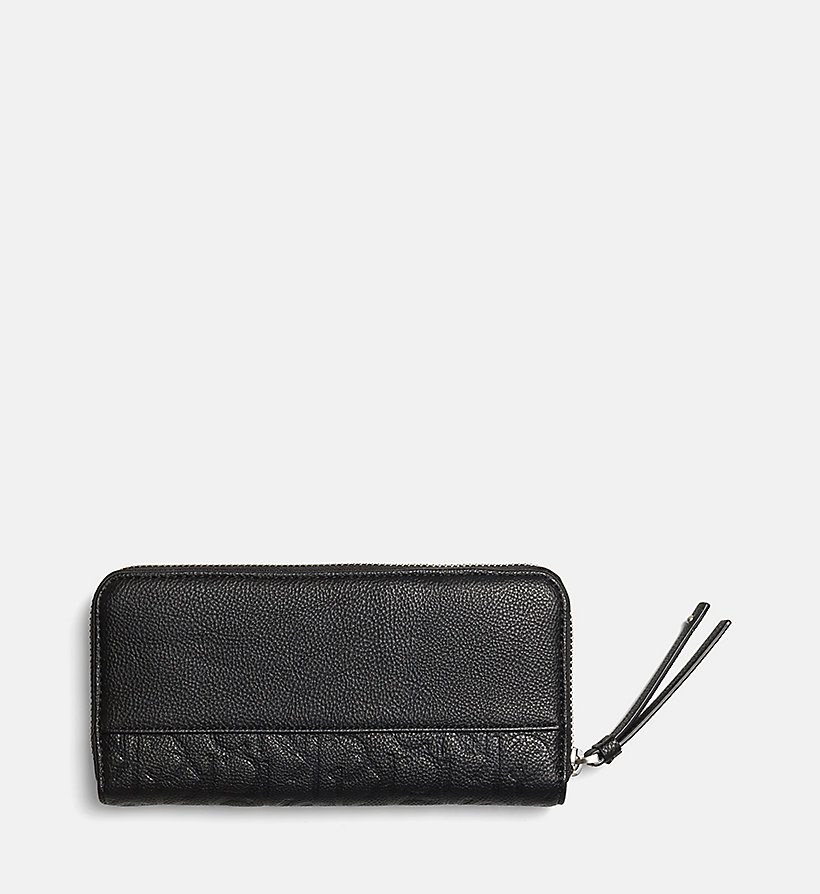 CALVINKLEIN Large Ziparound Wallet - OMBRE BLUE - CALVIN KLEIN SHOES & ACCESSORIES - detail image 2