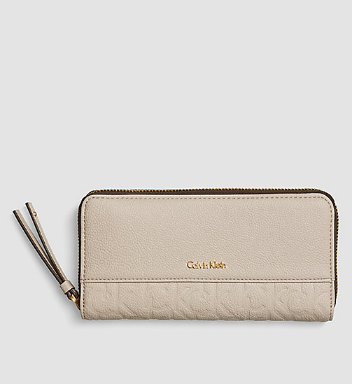 Large Zip-Around Wallet - MUSHROOM - CALVIN KLEIN  - main image