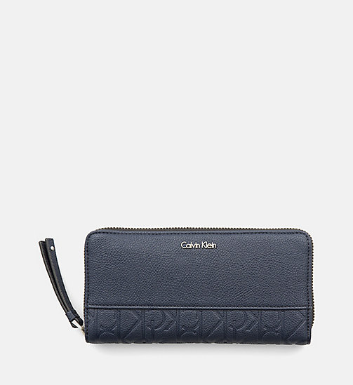Large Zip-Around Wallet - BLUE NIGHT - CALVIN KLEIN  - main image
