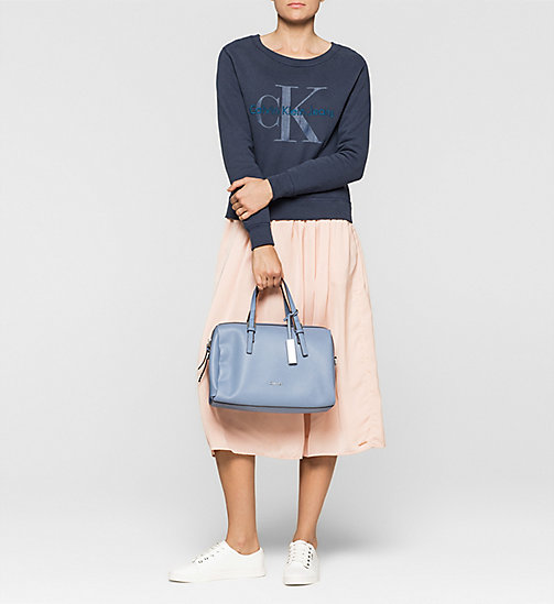 CKJEANS Duffle Bag - CASHMERE BLUE - CALVIN KLEIN SHOES & ACCESSORIES - detail image 1
