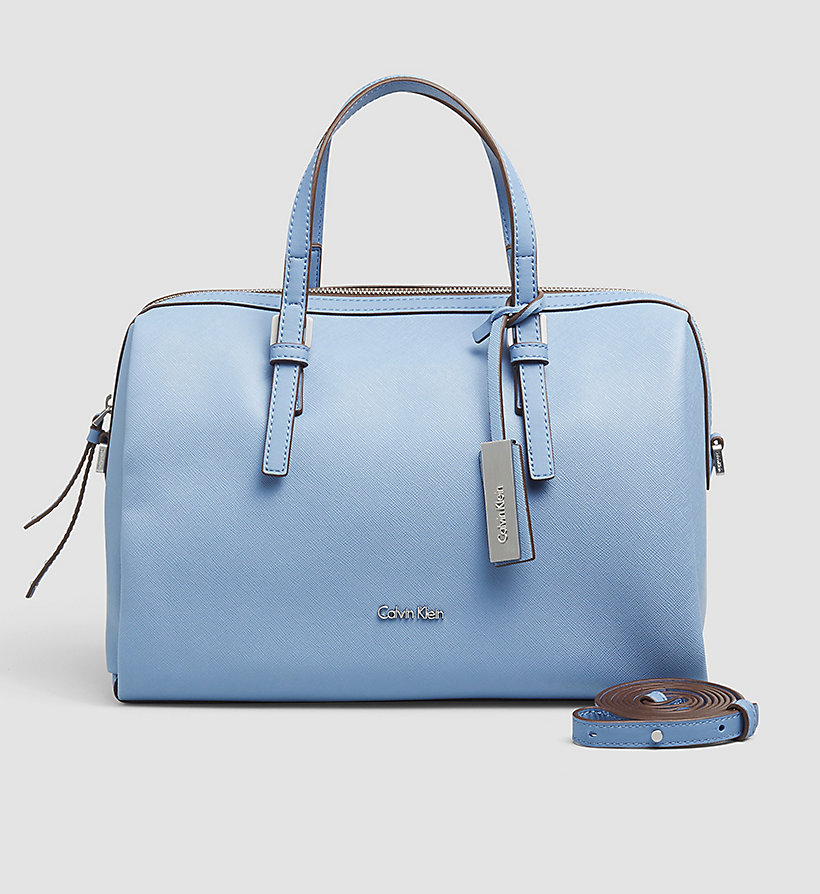 CALVINKLEIN Duffle Bag - CASHMERE BLUE - CALVIN KLEIN SHOES & ACCESSORIES - main image