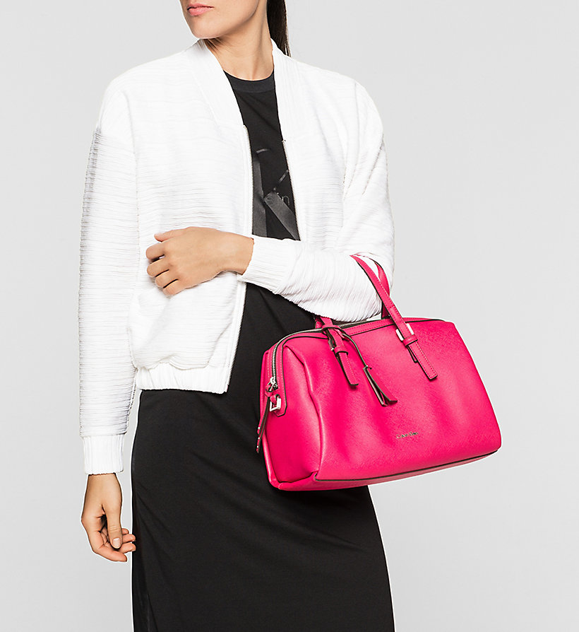 CALVINKLEIN Duffle Bag - BRIGHT ROSE - CALVIN KLEIN SHOES & ACCESSORIES - detail image 1