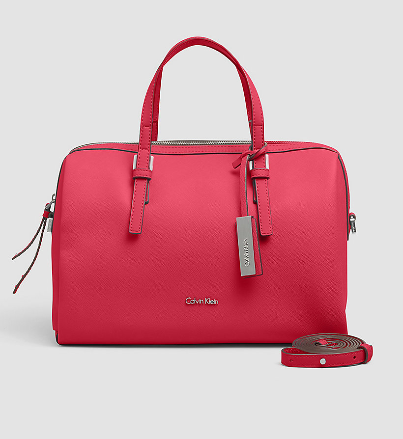 CALVINKLEIN Duffle Bag - BRIGHT ROSE - CALVIN KLEIN SHOES & ACCESSORIES - main image