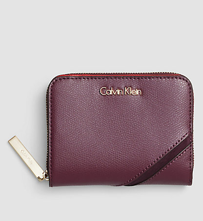 CALVIN KLEIN Leather Ziparound Wallet - Julia K60K602189500