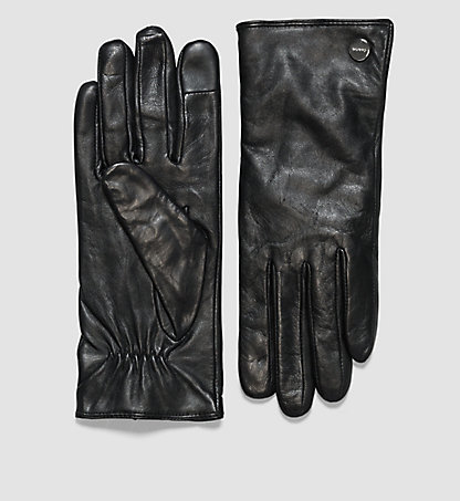 CALVIN KLEIN Leather Gloves - Shana K60K602191001