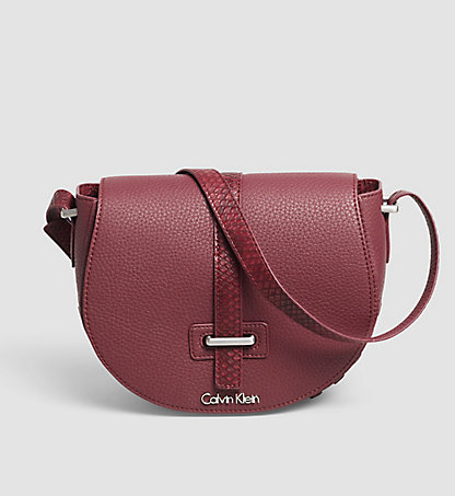 CALVIN KLEIN Saddle Crossover  - Poppy K60K602205637