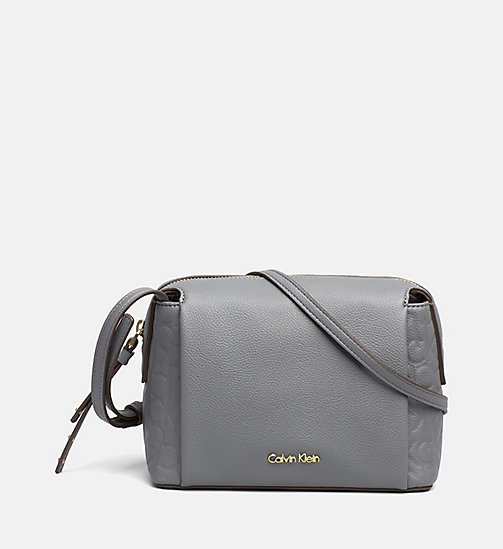 Kleine Logo-Crossover-Bag - STEEL GREY - CALVIN KLEIN  - main image