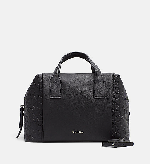 CALVINKLEIN Logo Duffle Bag - BLACK - CALVIN KLEIN SHOES & ACCESSORIES - main image
