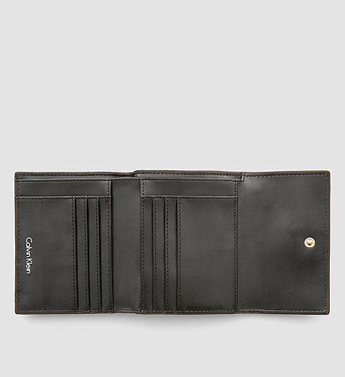 Medium Trifold Wallet - STEEL GREY - CALVIN KLEIN  - detail image 1