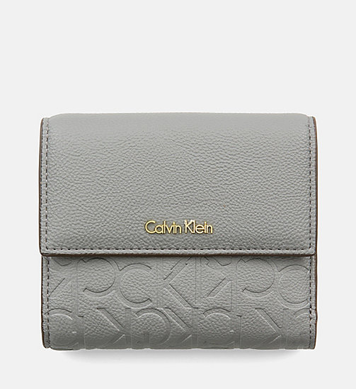 Medium Trifold Wallet - STEEL GREY - CALVIN KLEIN  - main image