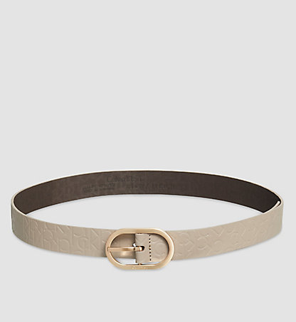 CALVIN KLEIN Leather Logo Belt - Misha K60K602239094