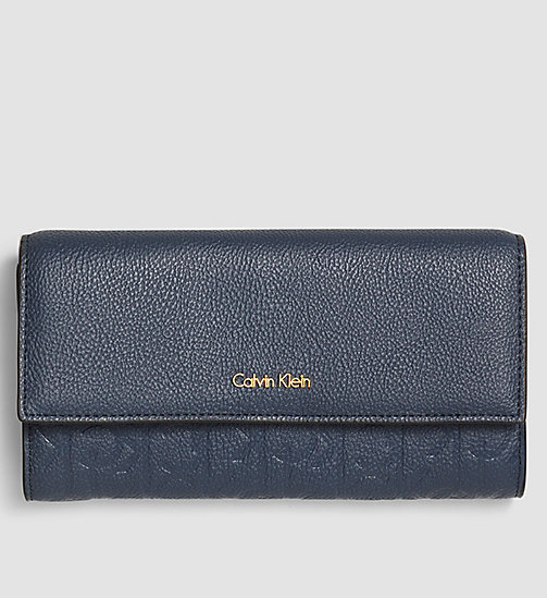 Large Trifold Wallet - OMBRE BLUE - CALVIN KLEIN SHOES & ACCESSORIES - main image
