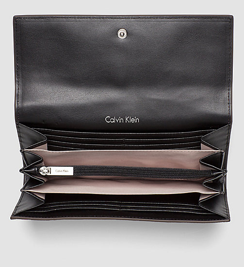 CALVINKLEIN Large Trifold Wallet - BRIGHT ROSE - CALVIN KLEIN WALLETS - detail image 1