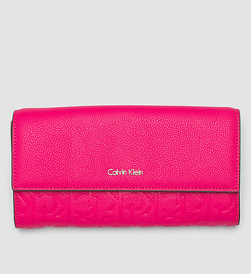 Large Trifold Wallet - BRIGHT ROSE - CALVIN KLEIN  - main image