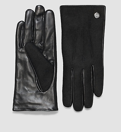 CALVIN KLEIN Leather Gloves - Jodie K60K602266001