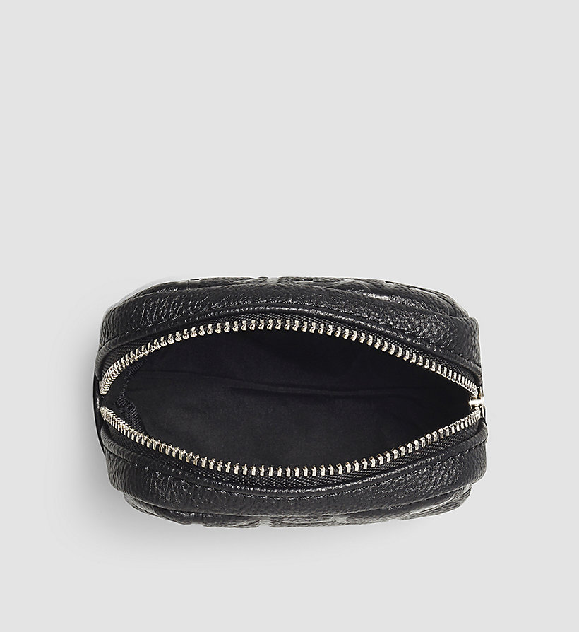 CALVINKLEIN Coin Pouch - BLACK - CALVIN KLEIN SHOES & ACCESSORIES - detail image 1