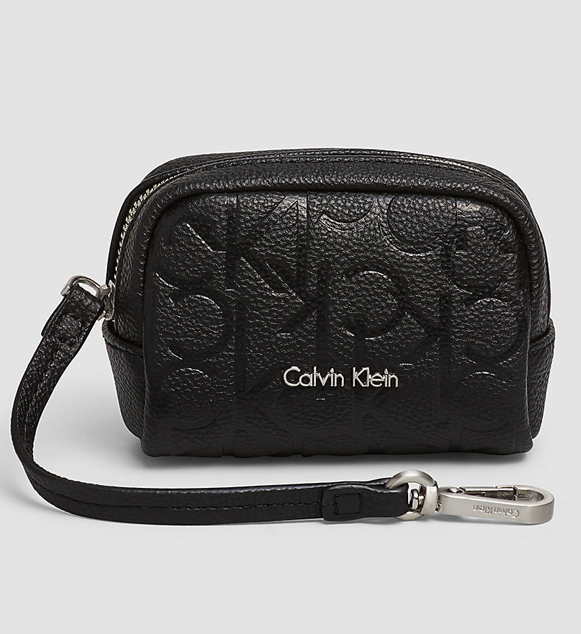 CALVINKLEIN Coin Pouch - BLACK - CALVIN KLEIN SHOES & ACCESSORIES - main image