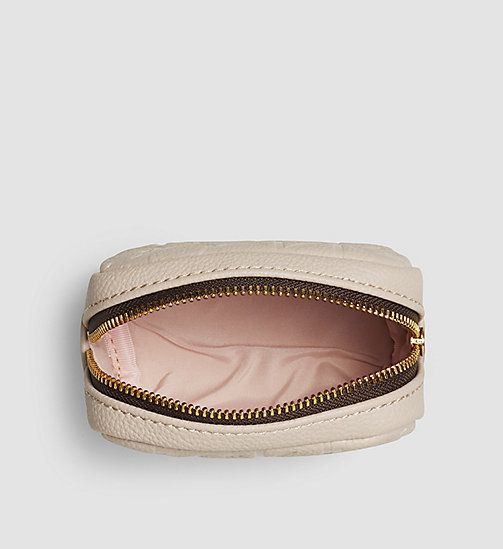 Coin Pouch - MUSHROOM - CALVIN KLEIN SHOES & ACCESSORIES - detail image 1