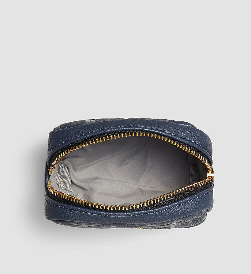 CALVINKLEIN Coin Pouch - OMBRE BLUE - CALVIN KLEIN SHOES & ACCESSORIES - detail image 1