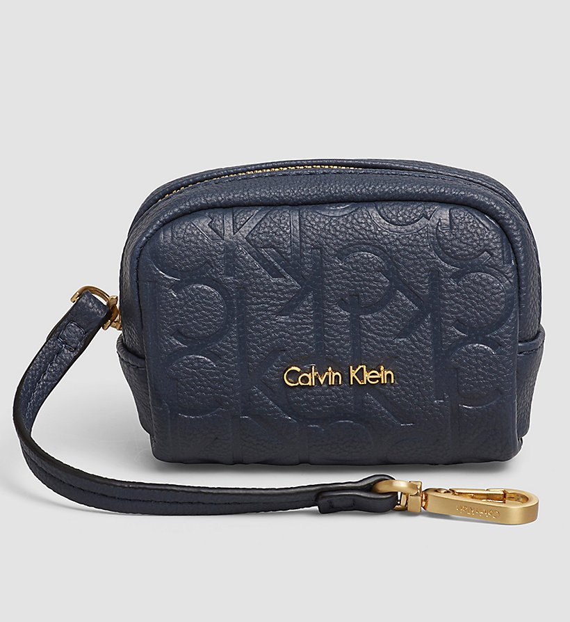 CALVINKLEIN Coin Pouch - OMBRE BLUE - CALVIN KLEIN SHOES & ACCESSORIES - main image