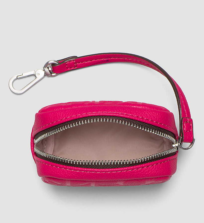 CALVINKLEIN Coin Pouch - BRIGHT ROSE - CALVIN KLEIN SHOES & ACCESSORIES - detail image 1