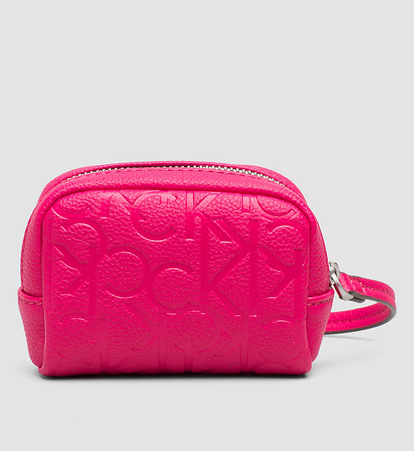 CALVINKLEIN Coin Pouch - BRIGHT ROSE - CALVIN KLEIN SHOES & ACCESSORIES - detail image 2