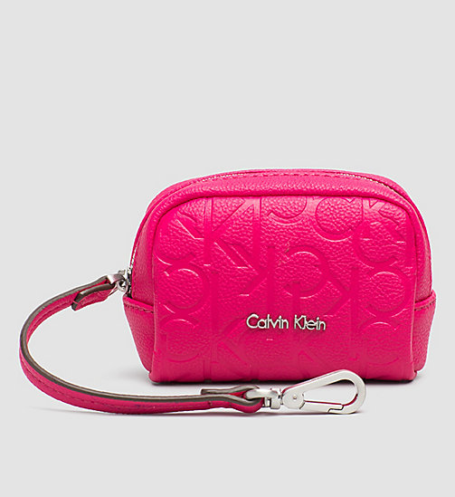 CALVINKLEIN Coin Pouch - BRIGHT ROSE - CALVIN KLEIN SMALL ACCESSORIES - main image