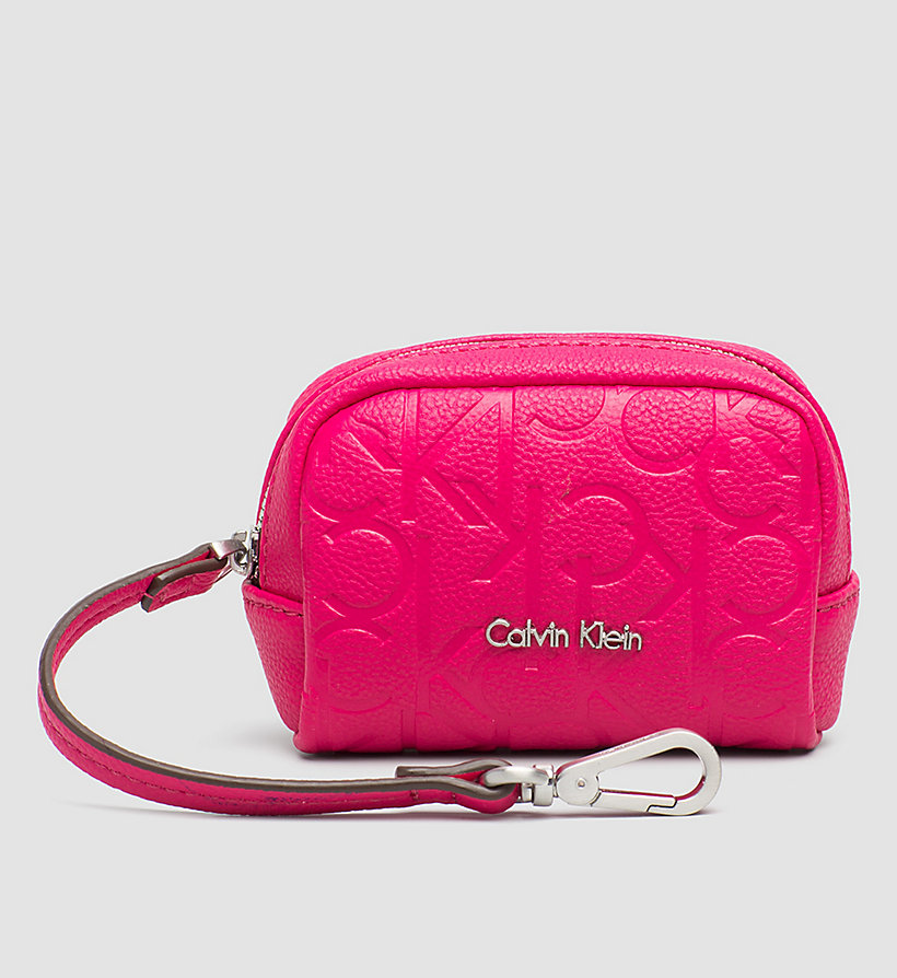 CALVINKLEIN Coin Pouch - BRIGHT ROSE - CALVIN KLEIN SHOES & ACCESSORIES - main image