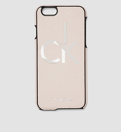 CALVINKLEIN iPhone 6s Cover - FRAPPE/SOFT PINK - CALVIN KLEIN SMALL ACCESSORIES - main image