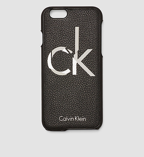 CALVINKLEIN iPhone 6s Cover - BLACK /  BLACK - CALVIN KLEIN SMALL ACCESSORIES - main image