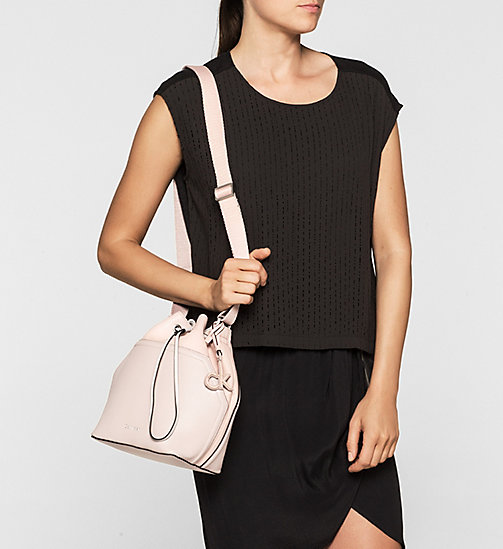 CKCOLLECTION Bucket Bag - FRAPPE/SOFT PINK - CALVIN KLEIN  - detail image 1