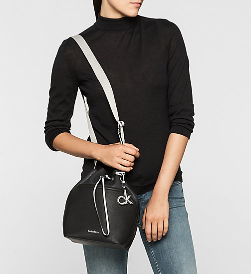 CKCOLLECTION Bucket Bag - BLACK/BLACK - CALVIN KLEIN  - detail image 1