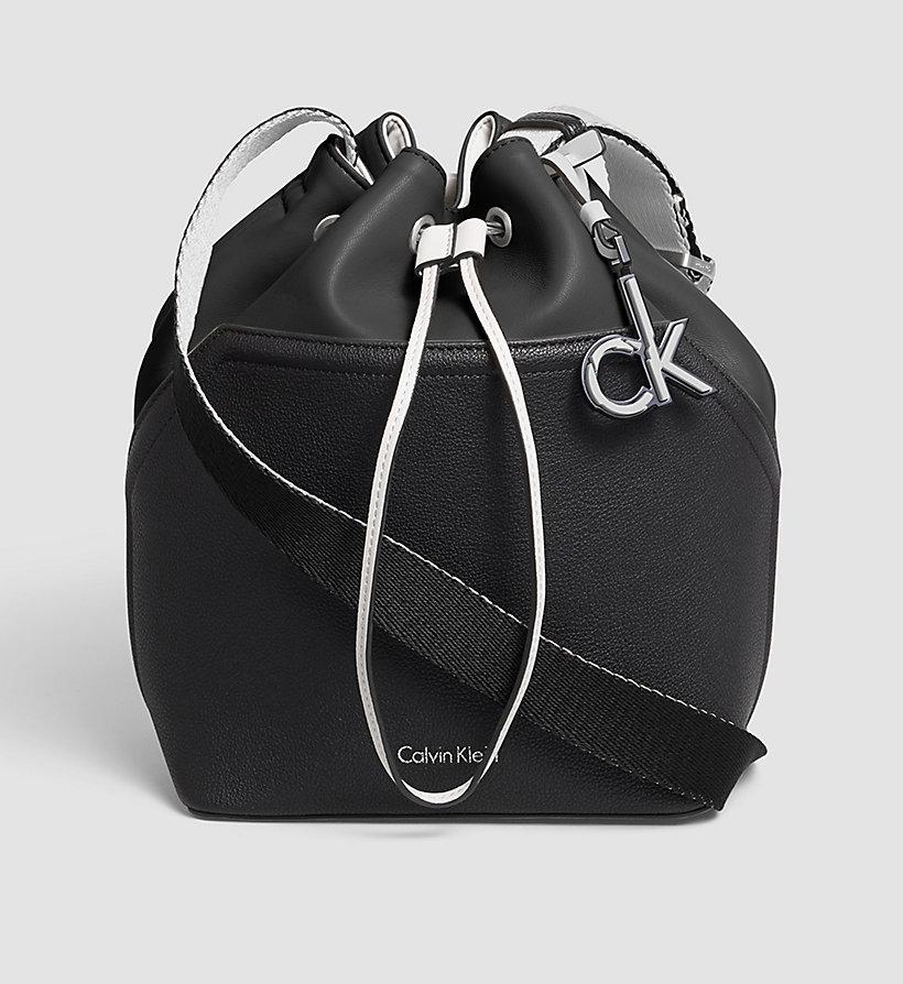 bucket bag black black calvin klein gifts for her main image. Black Bedroom Furniture Sets. Home Design Ideas
