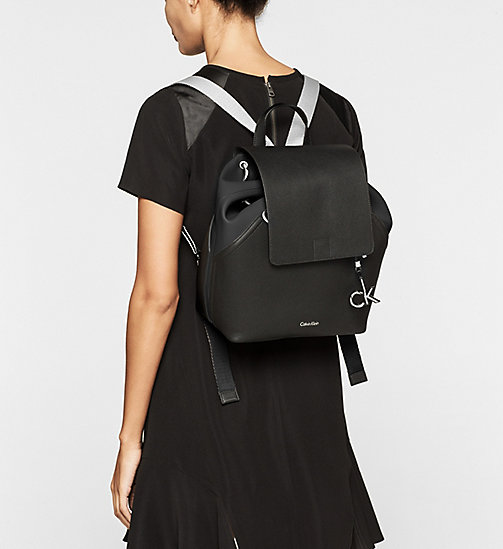 CALVINKLEIN Backpack - BLACK/BLACK - CALVIN KLEIN BACKPACKS - detail image 1