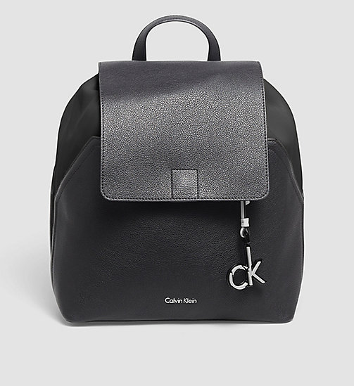 CALVINKLEIN Backpack - BLACK/BLACK - CALVIN KLEIN BACKPACKS - main image