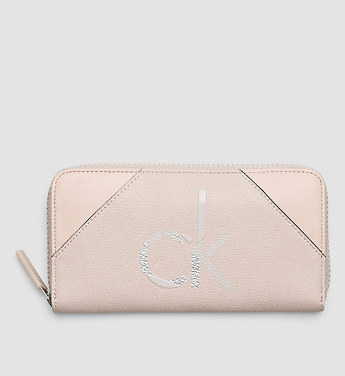 Ziparound Wallet - FRAPPE/SOFT PINK - CALVIN KLEIN SHOES & ACCESSORIES - main image