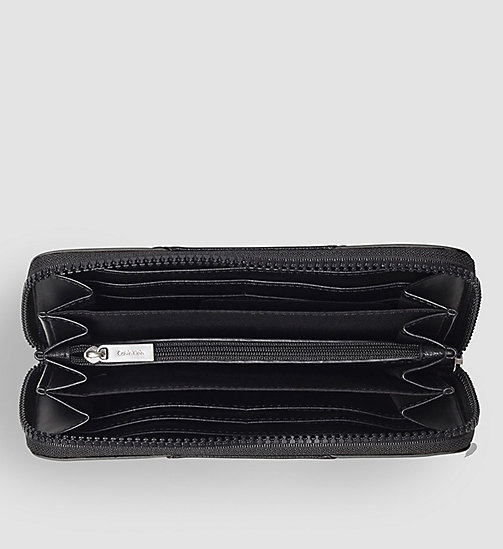 Ziparound Wallet - BLACK/BLACK - CALVIN KLEIN SHOES & ACCESSORIES - detail image 1