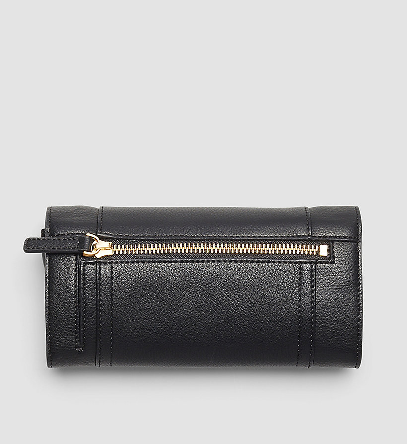 CALVINKLEIN Trifold Wallet On Chain - BLACK - CALVIN KLEIN SHOES & ACCESSORIES - detail image 2