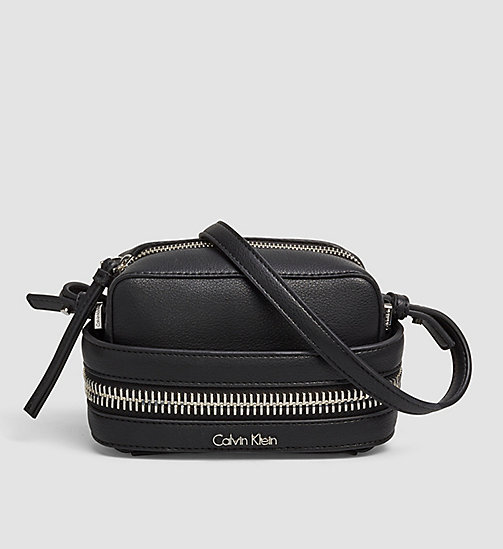 Small Crossover Clutch - BLACK - CALVIN KLEIN  - main image