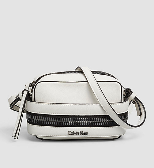 CALVINKLEIN Small Crossover Clutch - POWDER WHITE - CALVIN KLEIN CLUTCH BAGS - main image