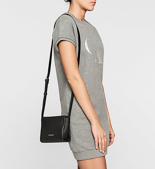 Mini Crossover-Bag - BLACK - CALVIN KLEIN  - main image 1